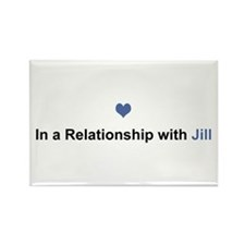 Jill Relationship Rectangle Magnet