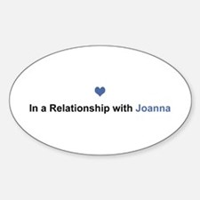 Joanna Relationship Oval Decal