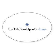 Josue Relationship Oval Decal