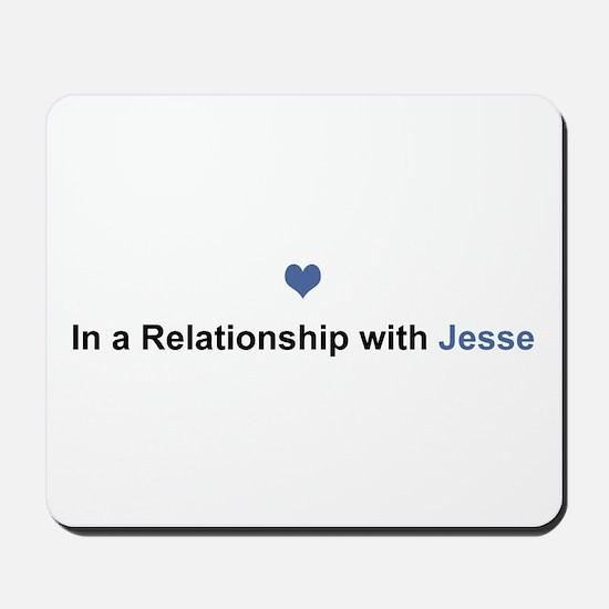Jesse Relationship Mousepad
