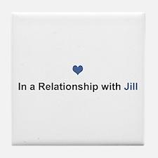 Jill Relationship Tile Coaster