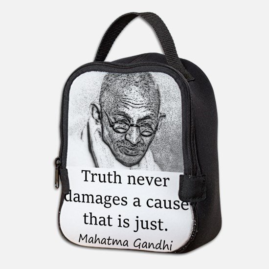 Truth Never Damages - Mahatma Gandhi Neoprene Lunc