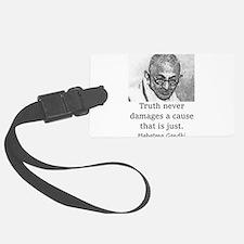 Truth Never Damages - Mahatma Gandhi Luggage Tag