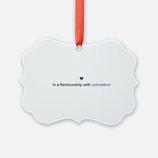 Johnathon Relationship Ornament