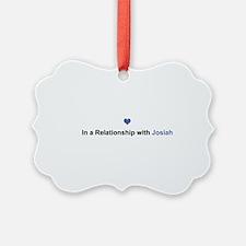 Josiah Relationship Ornament