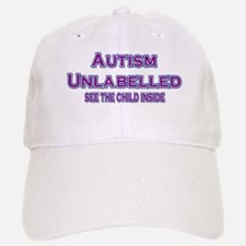 Autism Unlabelled Copperplate Purple Baseball Baseball Cap