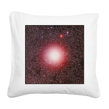 Star Gamma Crucis in Crux - Square Canvas Pillow