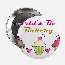 """World's Best Bakery 2.25"""" Button"""