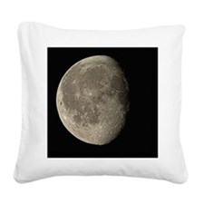 Waning gibbous Moon - Square Canvas Pillow