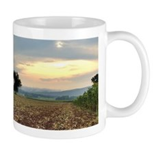 Fog rolling out over the Shawangunks Mug