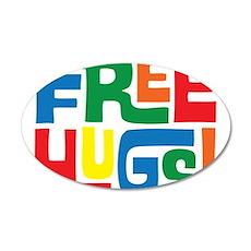 FREE HUGS Wall Decal