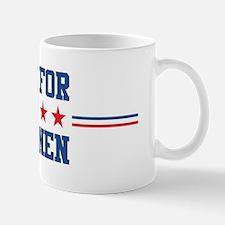 Vote for BRENNEN Mug