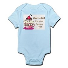 Life's Short Infant Bodysuit