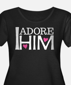I Adore Him Funny Dating T