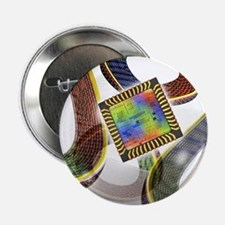 Football with chip - 2.25' Button (10 pack)