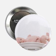 Baby being weighed - 2.25' Button (10 pack)