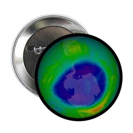 Antarctic ozone hole, 2009 - 2.25' Button (10 pack