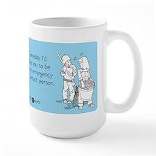 Emergency Contact Mug