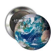 Blue Marble image of Earth (2005) - 2.25' Button (