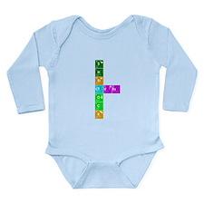 Elementary! Long Sleeve Infant Bodysuit