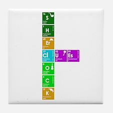 Elementary! Tile Coaster