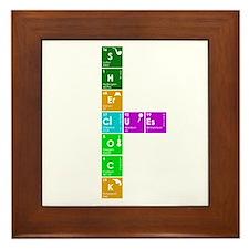 Elementary! Framed Tile