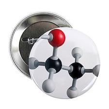 Ethanol molecule - 2.25' Button (10 pack)