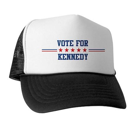Vote for KENNEDY Trucker Hat