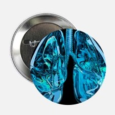 Lungs, artwork - 2.25' Button (10 pack)