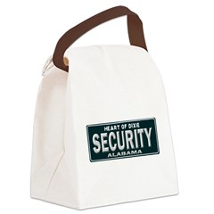 Alabama Security Canvas Lunch Bag