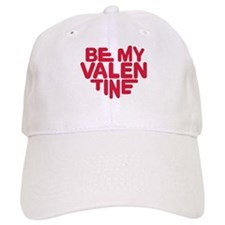 Be my valentine red heart Baseball Cap