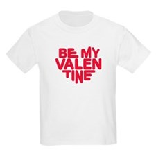 Be my valentine red heart T-Shirt