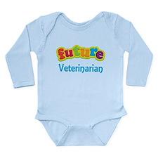 Future Veterinarian Long Sleeve Infant Bodysuit