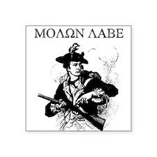 Molon Labe Minuteman Rectangle Sticker