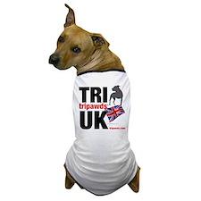 TRI UK Flag Dog T-Shirt
