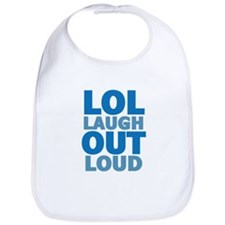 Laugh out loud Bib