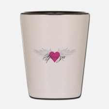 Yaritza-angel-wings.png Shot Glass
