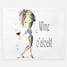 Wine oclock! King Duvet