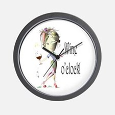Wine oclock! Wall Clock