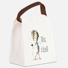 Wine oclock! Canvas Lunch Bag