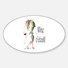Wine oclock! Decal