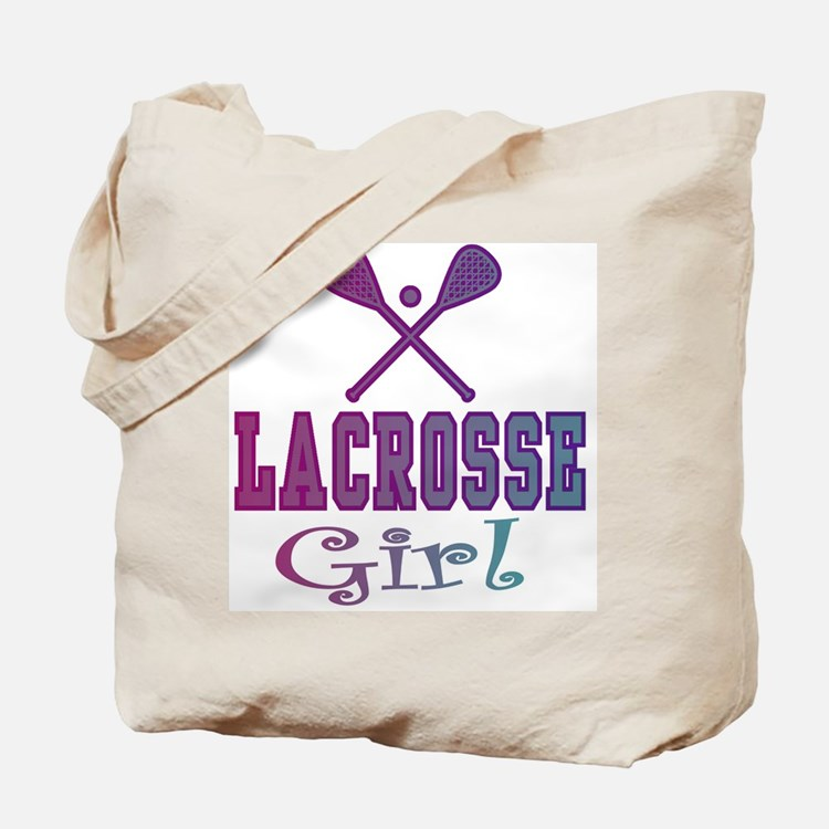 Lacrosse Teen/Girls Tote Bag