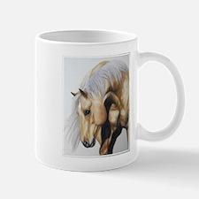 Yellow stallion. Mug