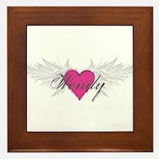Wendy-angel-wings.png Framed Tile