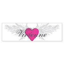 Vivienne-angel-wings.png Bumper Sticker