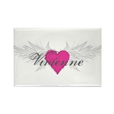 Vivienne-angel-wings.png Rectangle Magnet