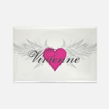 Vivienne-angel-wings.png Rectangle Magnet