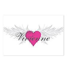 Vivienne-angel-wings.png Postcards (Package of 8)