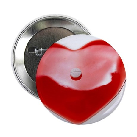 Unhealthy heart - 2.25' Button (10 pack)