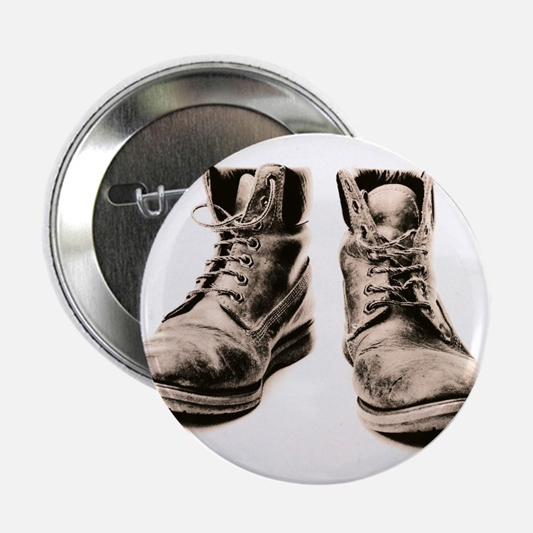 Worker's boots - 2.25' Button (10 pack)